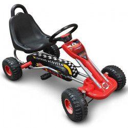CARS Go Kart a Pédales 89 x 52cm - Disney