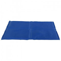 TRIXIE Matelas rafraîchissant - 90 × 50 cm - Bleu - Por chien