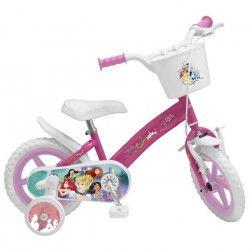Vélo 12` Princesse - Fille - Rose