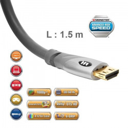 Câble HDMI 2.0 UHD Monster Gold 1,5 m