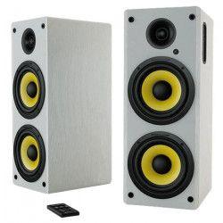 THONET & VANDER Haut-parleur Hoch - Bluetooth 2.0 - 70 W - Blanc / Jaune
