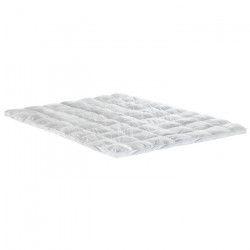 BULTEX Surmatelas NATURE 160x200 cm - Plumettes - Moelleux - 1500g/m2 - 2 personnes