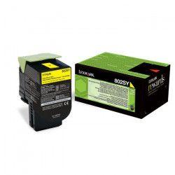Lexmark Toner 802SY - 80C2SY0 - Jaune - 2?000 pages