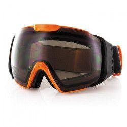 CARVE Masque ski-snow Lens 6037 - Adulte - Orange Gris