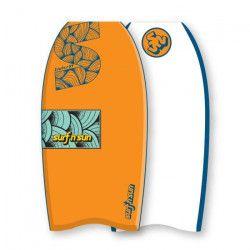 SURF & SUN Bodyboard Similar EPS 33` - Orange et bleu