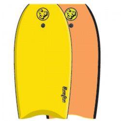 SURF & SUN Bodyboard Similar EPS 42` - Jaune et orange fluo