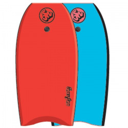 SURF & SUN Bodyboard Similar EPS 42` - Rouge et bleu