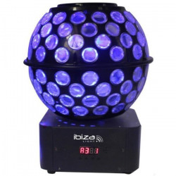 IBIZA LIGHT STARBALL-GB Effet magic ball avec gobos - LED 8 X 3W RGBW