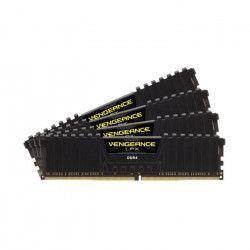 CORSAIR Mémoire PC DDR4 - Vengeance LPX 16 Go (4 x 4 Go) - 2400 MHz - CAS 14 (CMK16GX4M4A2400C14)