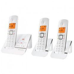 ALCATEL Versatis F230 Voice Trio - Téléphone sans fil - répondeur