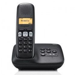 Gigaset A250A Solo Téléphone Sans Fil Répondeur Noir