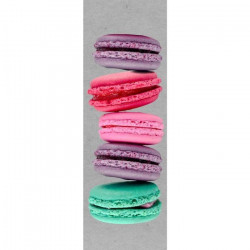 IMAGINE Toile 5 Macarons - 30x97