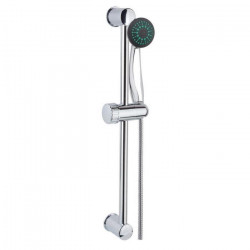 Barre de douche + douchette sans robinet - Flexible 1,5 m
