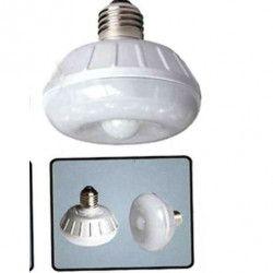 Lampe a détection de mouvement HESTEC - 8 LED - 7 x 7 x 8 cm