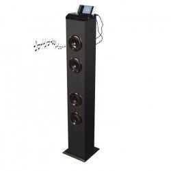 CLIPSONIC TES178 Tour de son Bluetooth - Noir