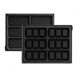 LAGRANGE Accessoires 020322 Jeu de plaques gaufrettes Tarti` Gaufres