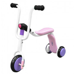 STAMP Trottinette / Draisienne 2 en 1 Turn & Roll 2 In 1 Tri-Scooter Rose