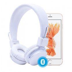 RYGHT LUMINA Casque audio Bluetooth - 6h d`autonomie - Blanc