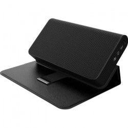 PRESTIGE MUSIC BOOK Enceinte Bluetooth portable avec fonction Powerbank intégrée - Noir