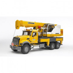 BRUDER - 2818 - Camion MACK avec grue Liebherr intégrée - Echelle 1:16 - 66 cm