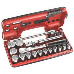 FACOM Coffret de serrage DTBOX 1/2`` 21 pieces