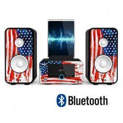 TOKAI WO 243 Micro-chaîne HiFi Bluetooth - Station d`accueil - UNITED STATES