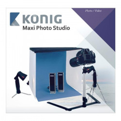 KONIG KN-STUDIO12N Mini Studio Photo pliable 60 x 60 x 60 cm