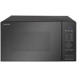 SHARP R-870BK - Micro-ondes combiné noir - 25L - 900 W - Grill 1100 W - Convection 2500 W - Pose libre
