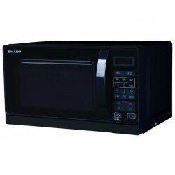 SHARP R-742BKW - Micro-ondes grill - Noir - 25L - 900 W - Grill 1000 W - Pose libre