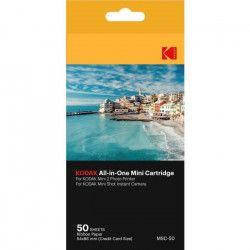KODAK KODMC50 Pack de 50 feuilles compatible Mini Shot et imprimante Mini 2