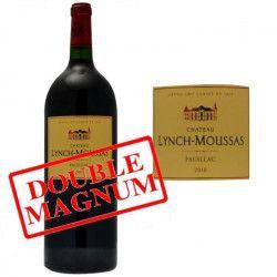 Double Magnum Château Lynch Moussas 2010 Pauillac - Vin rouge de Bordeaux