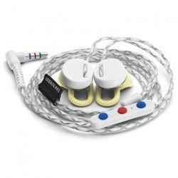 URBANEARS REIMERS Ecouteurs intra-auriculaires avec micro intégré - Jaune et Blanc