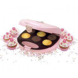 BESTRON DCM8162 Machine a cupcakes - Rose Pastel