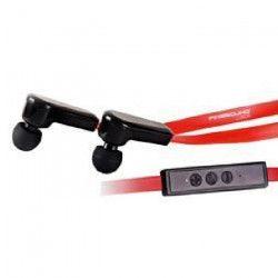 FINESOUND BT508 Écouteurs intra-auriculaires Bluetooth - Rouge
