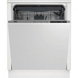 BEKO LVI66F-Lave vaisselle encastrable-15 couverts-44 dB silencieux-A++-Larg 60 cm-Moteur induction