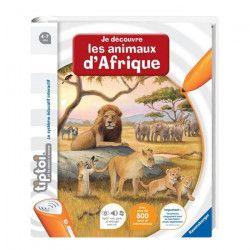 TIPTOI Livre Interactif Découverte des Animaux d`Afrique