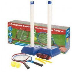 Kit de Tennis et Filet avec Raquettes