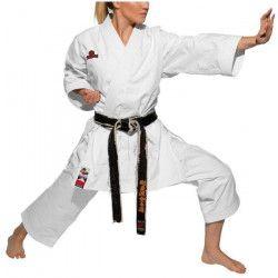 HAYASHI Kimono de karaté Tenno Yama officiel WKF - 175 cm - Blanc