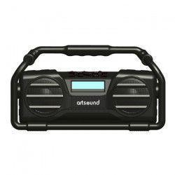 ARTSOUND U6B Radio universel numérique rechargable - Blanc - FM & Bluetooth