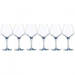 CHEF ET SOMMELIER Lot de 6 verres a vin OPEN`UP - 32 cl