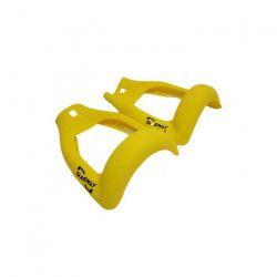 Coques de protection jaunes en silicone pour Hoverboard