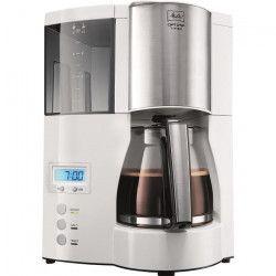 MELITTA 100801 Cafetiere filtre programmable Optima Timer - Blanc