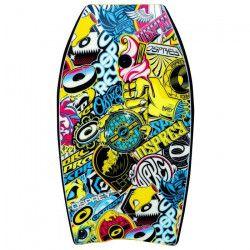 OSPREY Planche Bodyboard 33` Sticker - Jaune