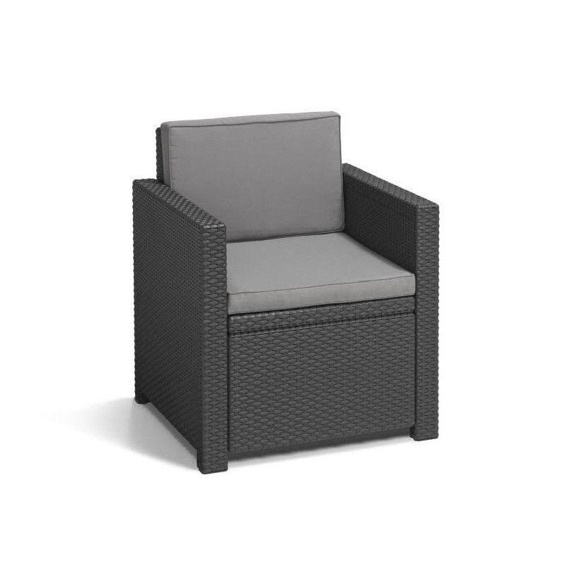 monaco salon de jardin 4 places aspect rotin tress. Black Bedroom Furniture Sets. Home Design Ideas