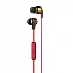 SKULLCANDY Écouteurs Intra-auriculaires Smoking Bud 2 - Avec micro - Noir, Rouge et Doré