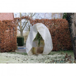 NATURE Housse d`hivernage 70 g/m² - Ø 150 cm x 2,00 m - Beige