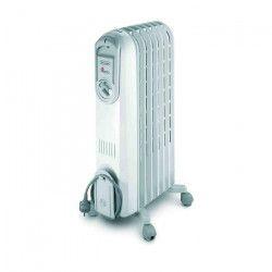 DELONGHI V550715 1500 watts Radiateur bain d`huile mobile - 3 puissances - Effet Venturi
