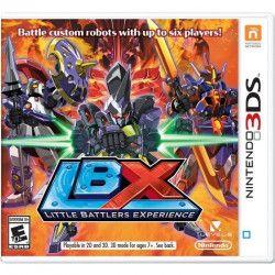 Little Battlers Experience Jeu 3DS