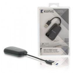 KONIG Convertisseur USB 3.0 vers HDMI - Noir