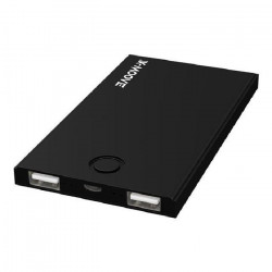 X-Moove - Batterie externe 4000 mAh Noir modele Powergo Mini-Duo